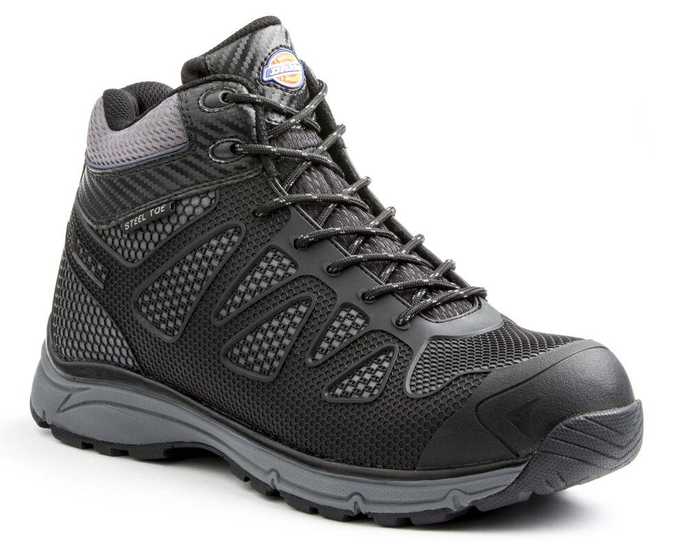 Dickies Men's Fury Mid Work Shoes - Steel Toe, Black, hi-res