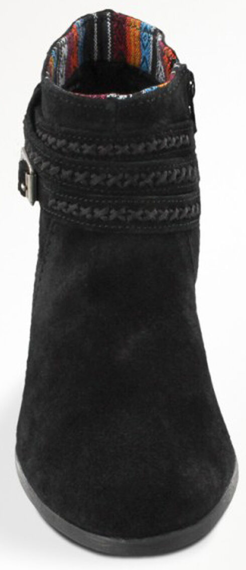 Minnetonka Women's Dixon Boots, Black, hi-res