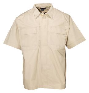 5.11 Tactical Taclite TDU Short Sleeve Shirt - Tall Sizes (2XT - 5XT), Khaki, hi-res