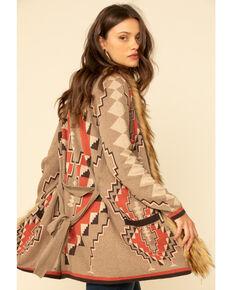 Tasha Polizzi Women's Greylock Blanket Cardigan, Chilli, hi-res