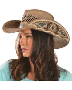 Bullhide From the Heart Straw Cowgirl Hat 083213c1a06