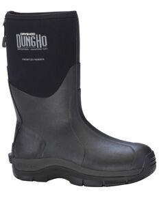 Dryshod Men's MID Dungho Barnyard Tough Boots, Black, hi-res