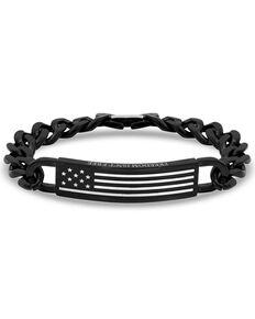 Montana Silversmiths Women's Kristy Titus Let Freedom Ring ID Bracelet, Silver, hi-res