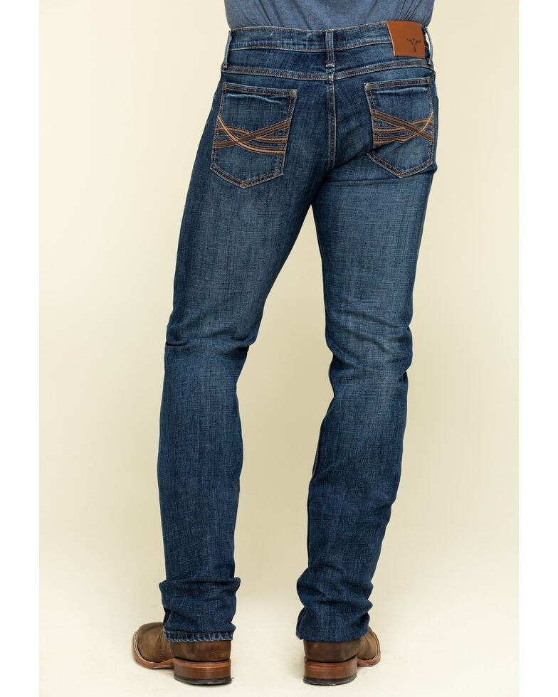 Wrangler 20X Men's No. 44 Victoria Stretch Slim Straight Jeans , Blue, hi-res