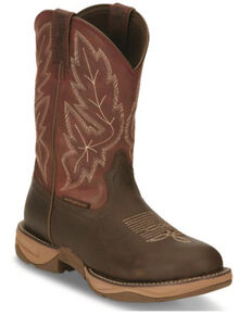 Tony Lama Men's Mankato Waterproof Western Boots - Round Toe, Brown, hi-res