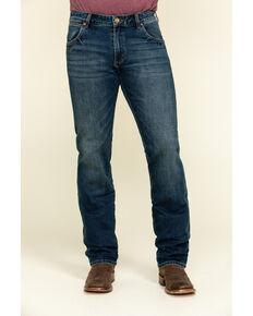 Wrangler Retro Men's Krum Stretch Slim Straight Jeans , Blue, hi-res