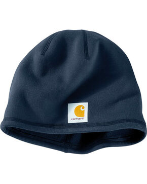 Carhartt Lewisville Force Fleece Hat, Navy, hi-res