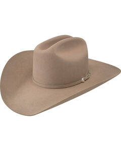 Resistol Men's Arena 40X Fur Felt Cowboy Hat, Medium Brown, hi-res