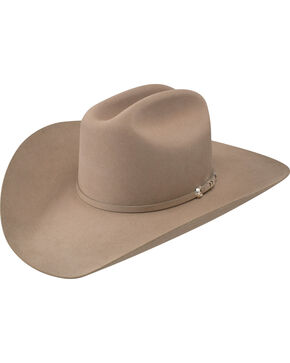 Resistol Men's Arena 40X Fur Felt Cowboy Hat, Medium Brown, hi-res