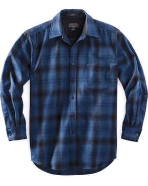 Pendleton Men's Blue Ombre Lodge Shirt , Blue, hi-res