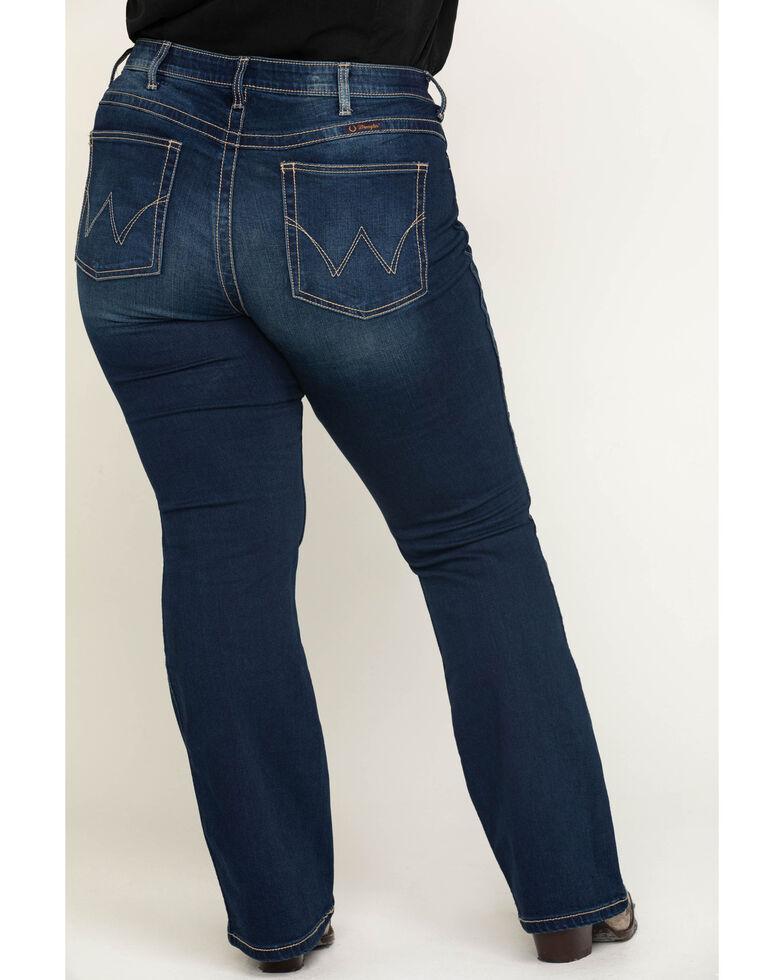 Wrangler Women's Q-Baby Dark Wash Ultimate Riding Jeans  , Indigo, hi-res