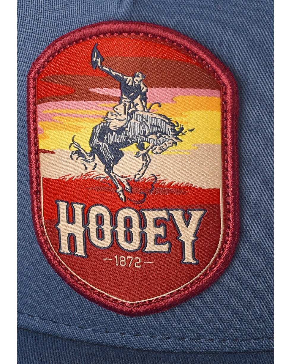 HOOey Men's Navy Cheyenne Trucker Cap, Navy, hi-res