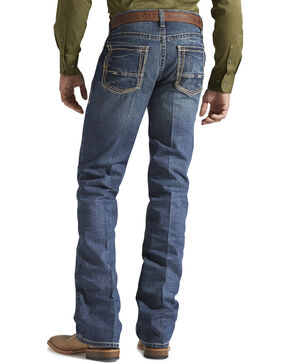 Ariat Denim Jeans - M5 Gulch Straight Leg - Big & Tall, Med Wash, hi-res