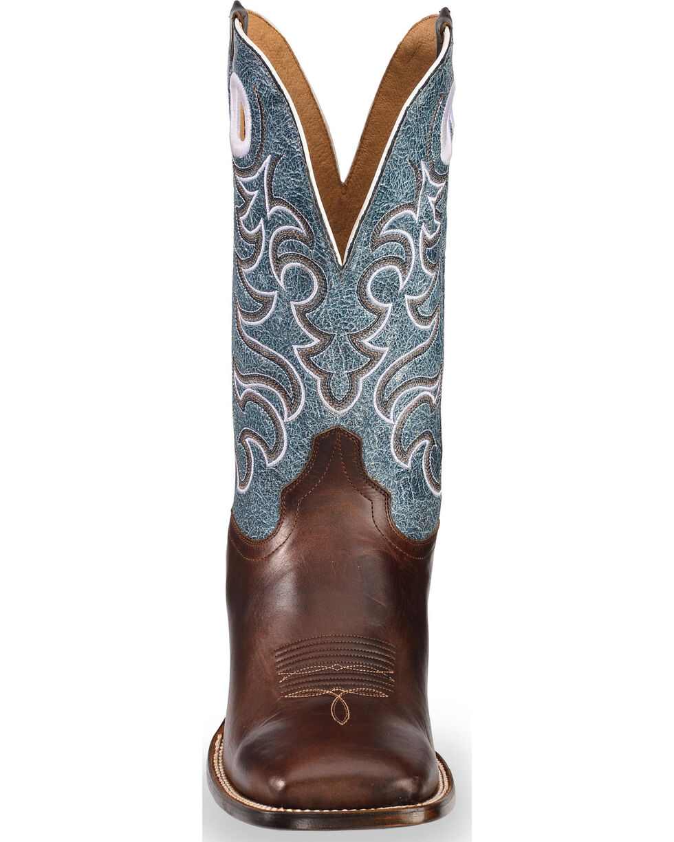 Cody James Men's Campbell Western Boots - Square Toe, Brown, hi-res