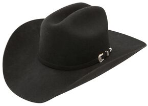 Stetson 3X Oakridge Wool Cowboy Hat, Black, hi-res