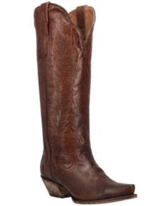Dan Post Women's Cognac Western Boots - Snip Toe, Cognac, hi-res