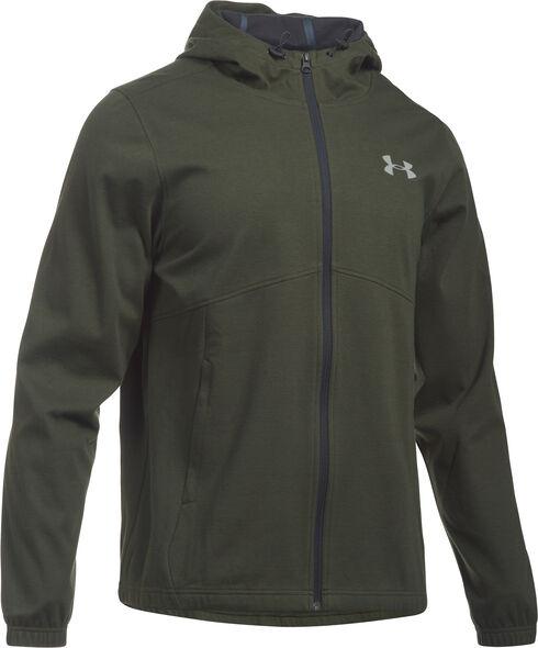 under armour hoodies mens. under armour men\u0027s green storm spring swacket hoodie, green, hi-res hoodies mens