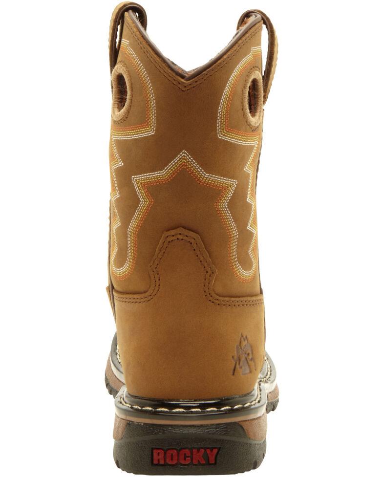 Rocky Boys' Branson Roper Western Boots - Round Toe, , hi-res