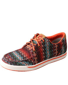 Twisted X Women's HOOey Loper Aztec Print Shoes, Multi, hi-res