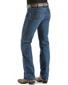 "Wrangler 936 Cowboy Cut Slim Fit Prewashed Jeans - 38"" Inseam, Stonewash, hi-res"