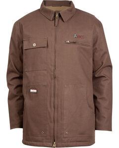Rocky Men's WorkSmart Waterproof Chore Coat, Brown, hi-res