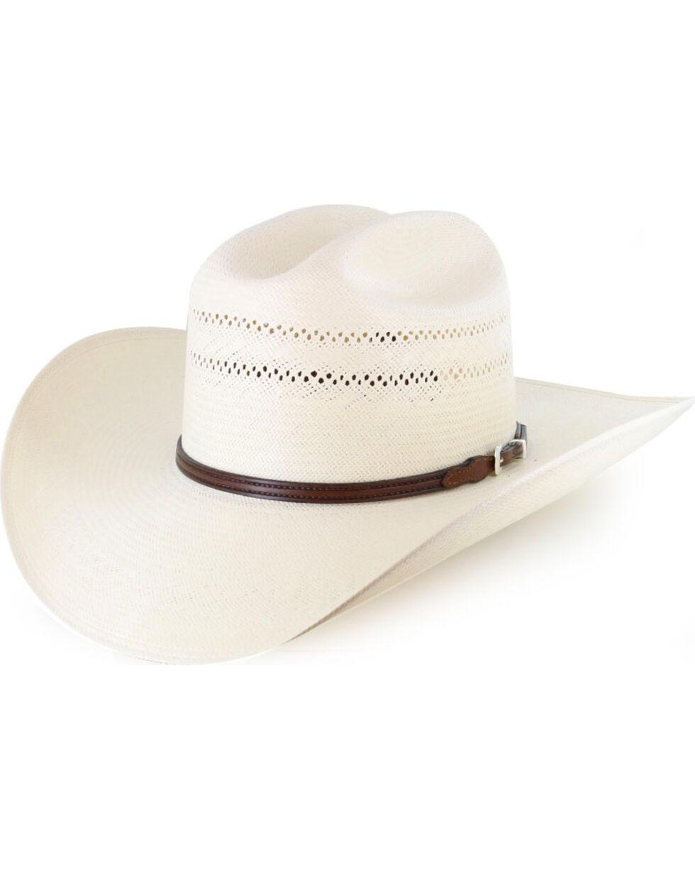 Resistol Men's George Strait 10X Straw Hat, , hi-res