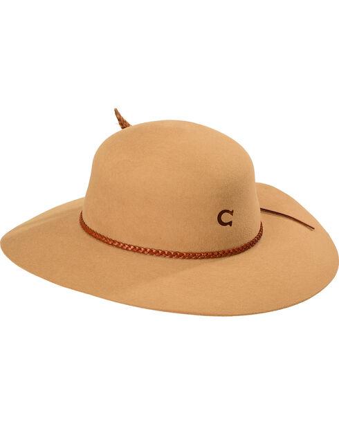 Charlie 1 Horse Wanderlust Springtime Floppy Hat, Sand, hi-res