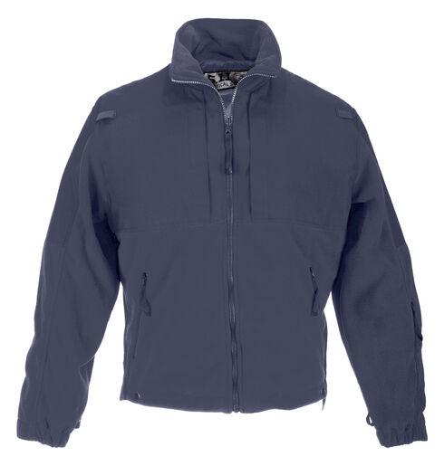 5.11 Tactical Men's Fleece Jacket, Navy, hi-res