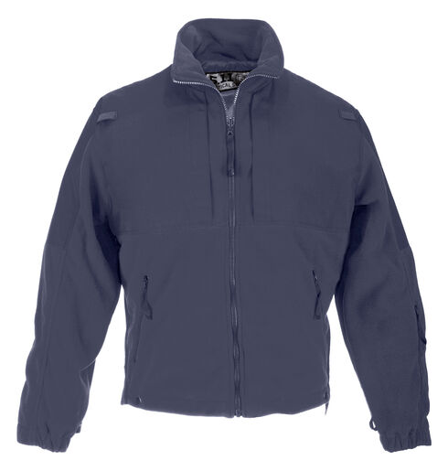 5.11 Tactical Men's Fleece Jacket - 3XL-4XL, Navy, hi-res