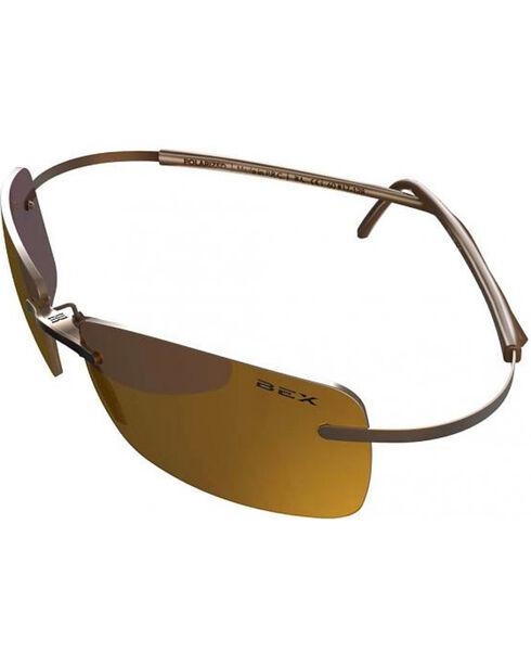 Bex Men's Gold Fynnland Sunglasses , Gold, hi-res