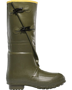 "LaCrosse Men's Insulated 2-Buckle 18"" Hunting Boots - Round Toe , Green, hi-res"
