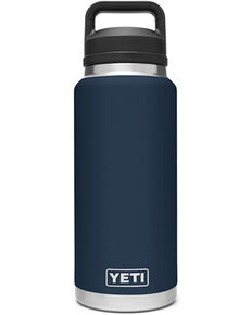 Yeti Rambler 36oz Navy Chug Bottle, Navy, hi-res