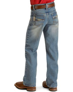 Cinch ® Boys' Tanner Regular Cut Jeans - 8-18 , Denim, hi-res