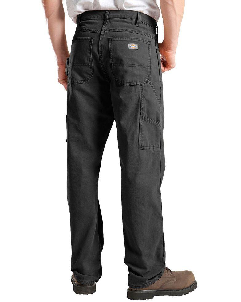 Dickies Sanded Duck Carpenter Jeans, Black, hi-res