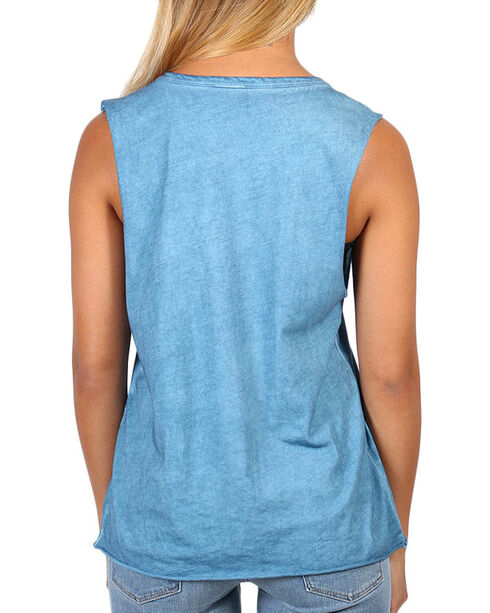 Z Supply Roam Free Graphic Muscle Tank, Light Blue, hi-res