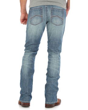 Wrangler 20X Men's Blue 44 Slim Fit Jeans - Straight Leg , Light Blue, hi-res