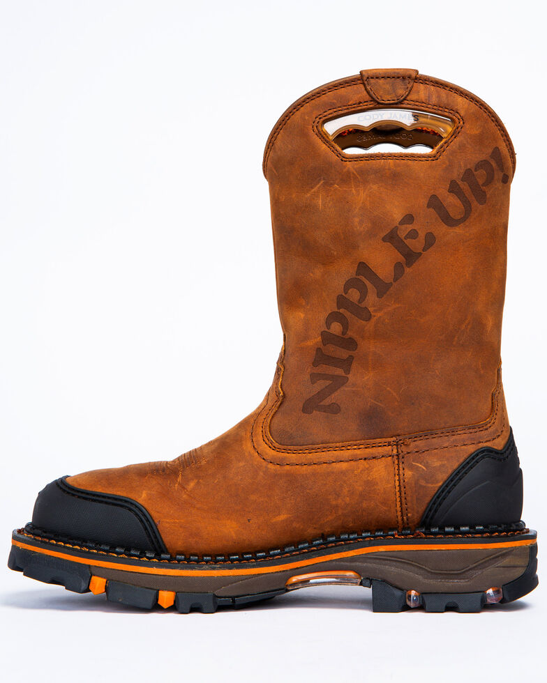 d2d3f159667 Cody James Men's Decimator Skull Western Work Boots - Composite Toe