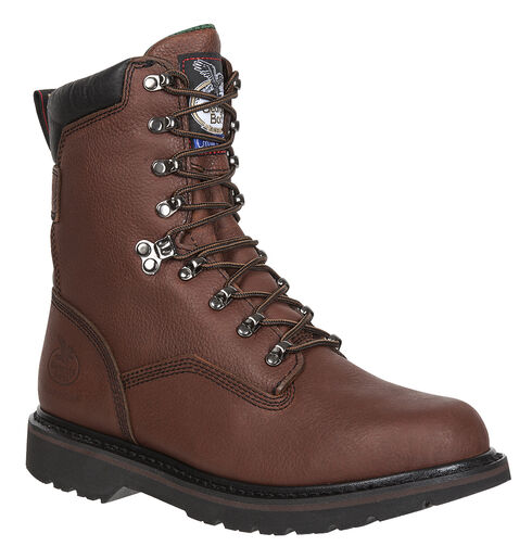 Georgia Renegade Work Boots - Round Toe, Gaucho, hi-res