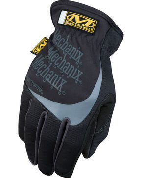 Mechanix Wear FastFit Work Gloves , Black, hi-res