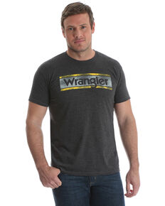 a77ccee1b1a7 Wrangler Men's Charcoal Logo Graphic T-Shirt