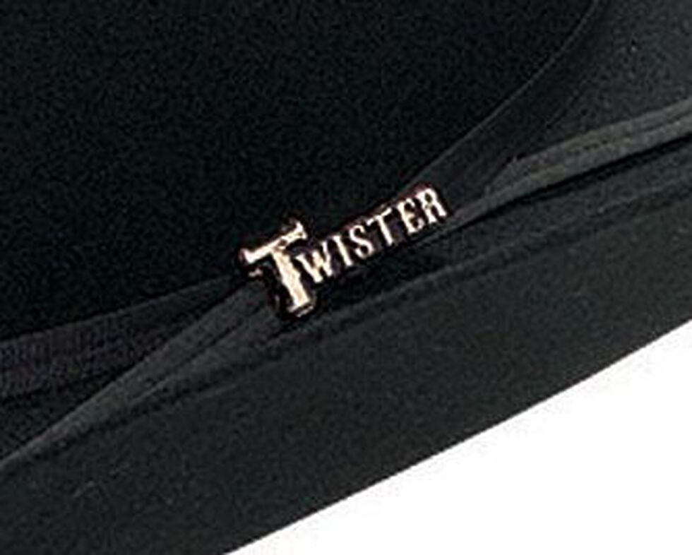 Twister Colton 2X Select Wool Cowboy Hat, Black, hi-res