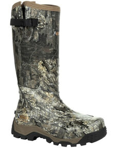 Rocky Men's Sport Pro Rubber Snake Boots - Soft Toe, Camouflage, hi-res