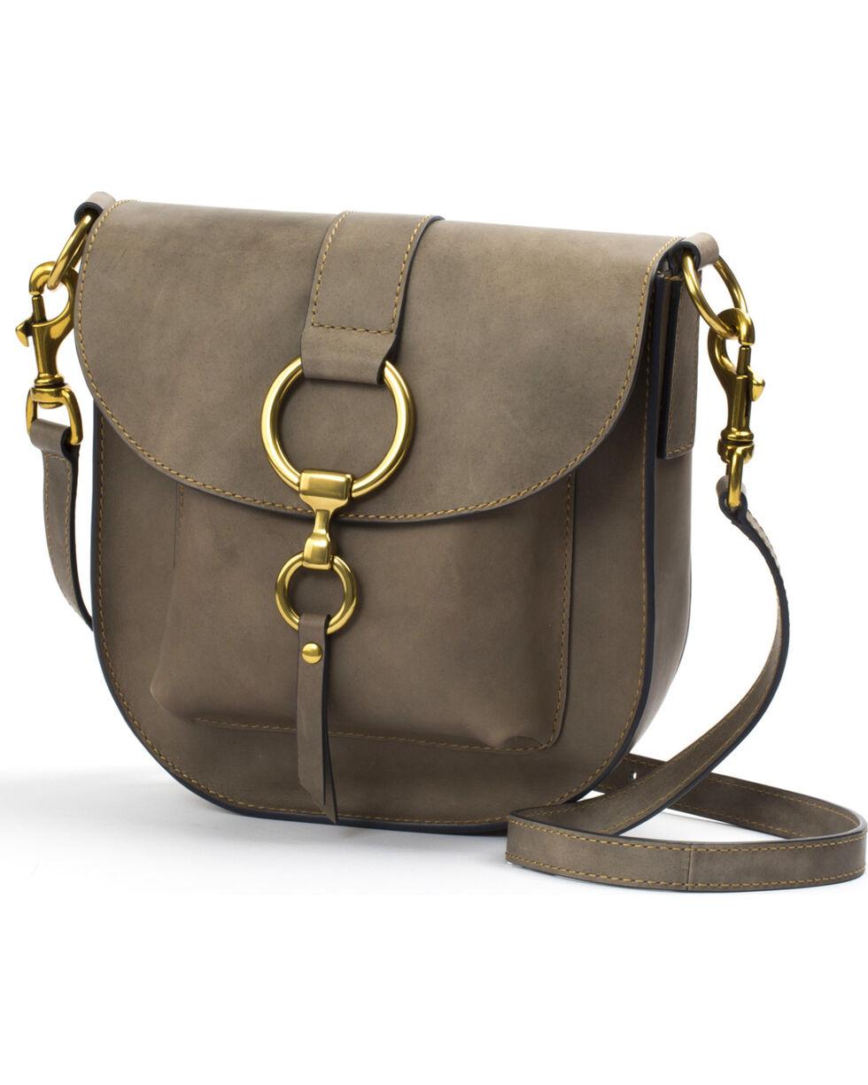 Frye Women's Grey Ilana Saddle Bag, Grey, hi-res
