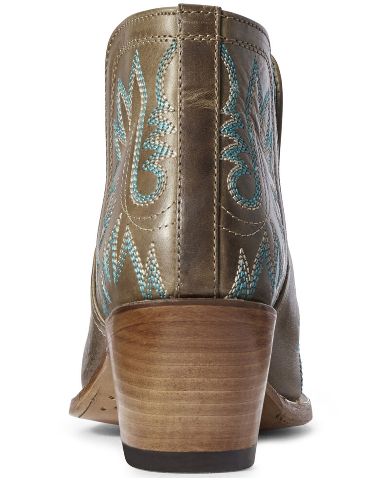 Ariat Women's Dixon Fashion Booties - Snip Toe, Brown, hi-res