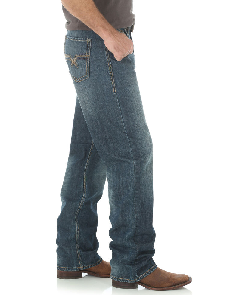 Wrangler 20X Men's No.33 Extreme Relaxed Fit Jeans - Straight Leg, Indigo, hi-res