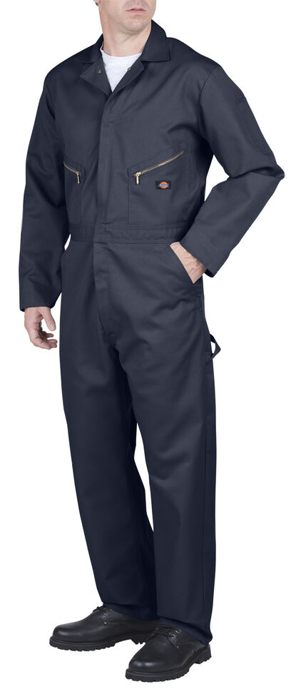 Dickies Deluxe Blended Coveralls, Navy, hi-res