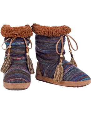 Blazin Roxx Women's Ava Short Slippers , Multi, hi-res
