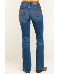 Shyanne Life Women's Light Wash Tidal Riding Jeans, Blue, hi-res