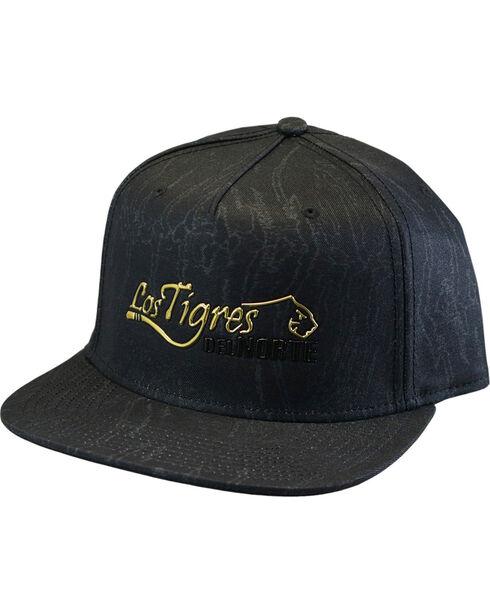 Los Tigres Del Norte Men's Tigre Cap, Black, hi-res