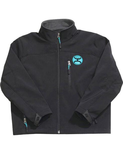 Hooey Boys' Black Fleece Lined Jacket , Black, hi-res